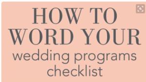 wedding-program-checklist
