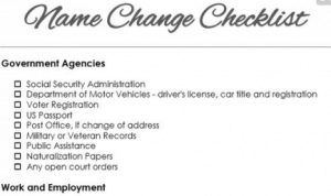 name-changes-checklist