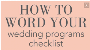 wedding-program-checklist